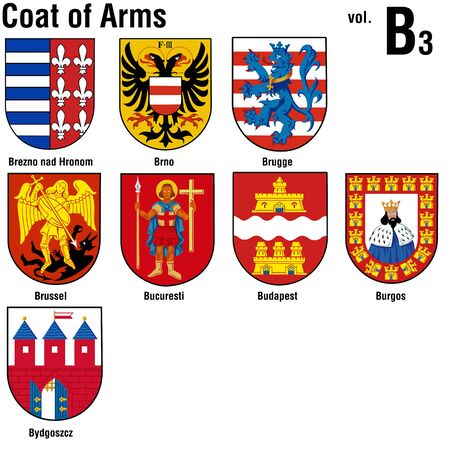 Coat of Arms ( B3 ) Stock Photo