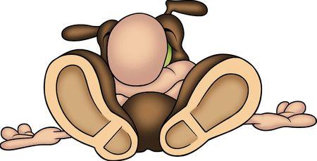 Sleeping ant photo