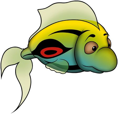 Green-Yellow fish
