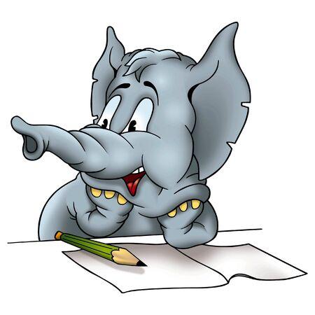 jovial: Elephant correspondent