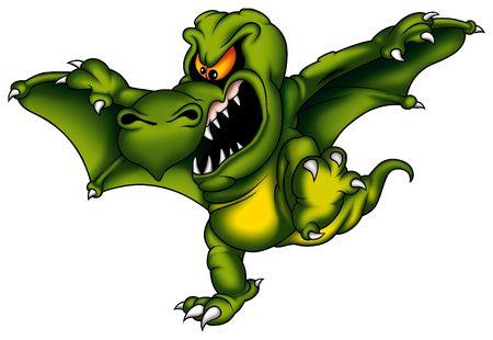 wyvern: Dragon Sterax Stock Photo