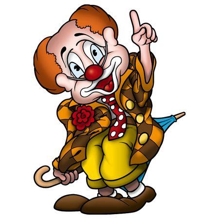 Circus clown photo