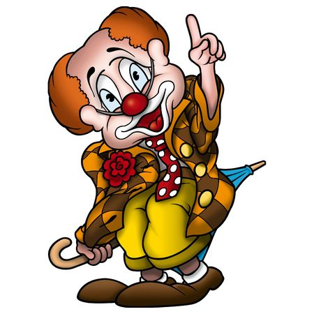 clown cirque: Cirque clown