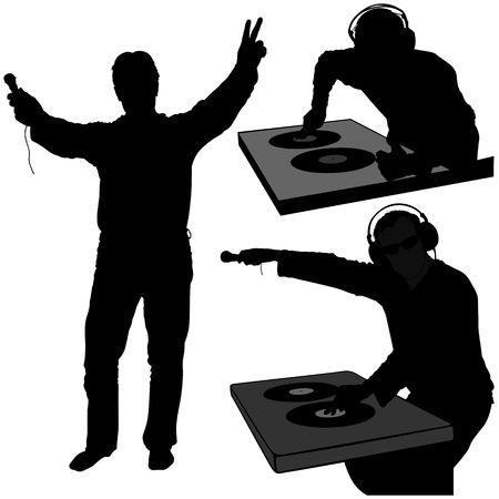 deejay: DJs 07 - Deejay silhouettes