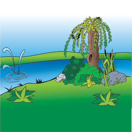 willow: Cartoon Background 02  - cartoon background