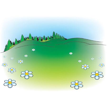vector cartoons: Cartoon Background 06  - cartoon background