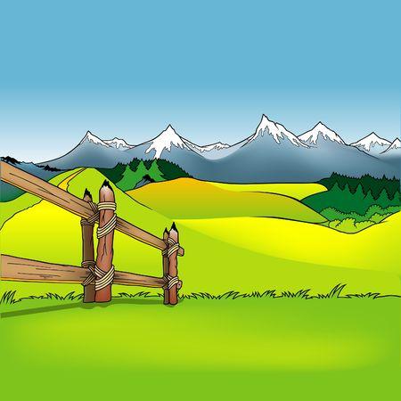 enclosures: Cartoon Background 12  - cartoon background as vector. Illustration