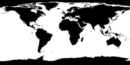 background antarctica: World map texture - vector
