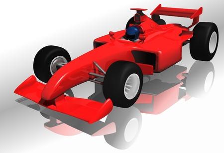 formulas: car - highly detailed illustration as vector image