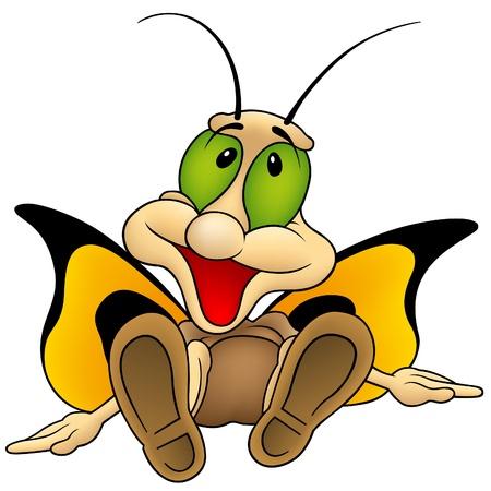 caricaturas de animales: Mariposa 13 - Sesi�n de mariposas como vector