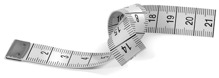 Tape Measure - colored illustration as vector Vector