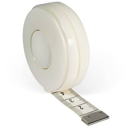 Tape Measure 02 - colored illustration as vector Vector