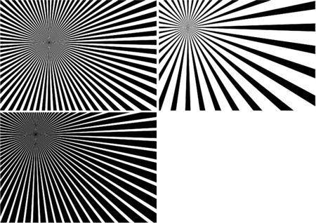 Light Rays vol.2 - Black illustration as source vector Stock Vector - 4907510