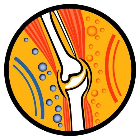 human joint: Human Joint - abstract illustration  Illustration