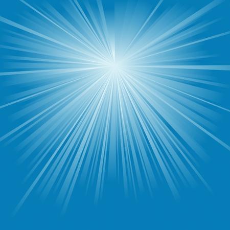Rayons de lumière - illustration de fond abstrait.