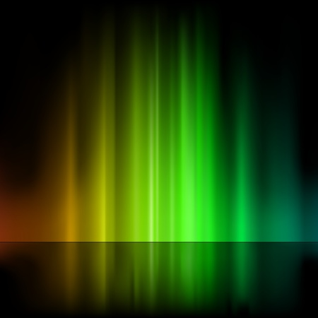 Colored Light Fountain - Abstract Background Illustration, Vector Stock Vector - 10388806
