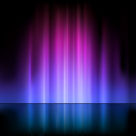 beams: Colored Light Fountain - Abstract Background Illustration, Vector Illustration