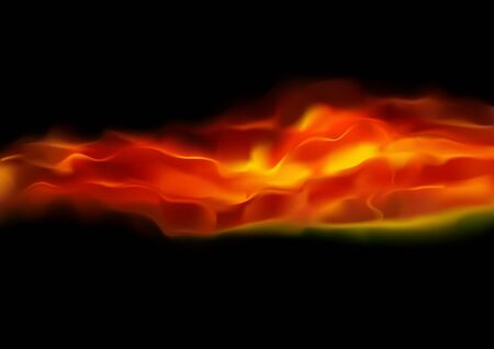 Fire - detailed background illustration, Vector Stock Vector - 10505973