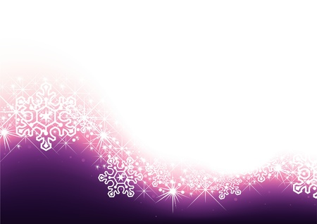 blinking: Resumen Antecedentes - Estrellas y copos de nieve como resumen ilustraci�n, vector