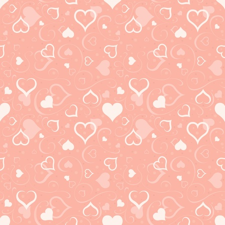repetitive: Hearts Texture - Repetitive Pattern, Illustration