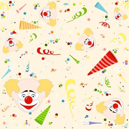 repetitive: Happy Birthday Pattern - Repetitive Illustration, Vector