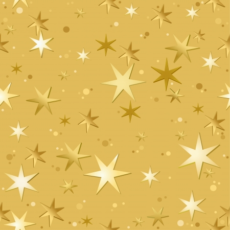 Stars Pattern - Repetitive Illustration, Vector Vector