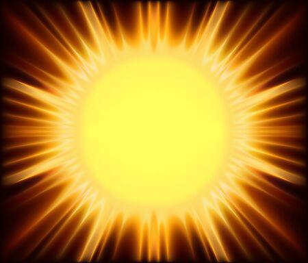 Abstract Sunshine - Background Illustration Stock Vector - 13844111