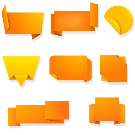 novelty: Labels - orange collection