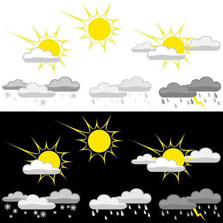 Weather Icon Set Stock Vector - 14111303