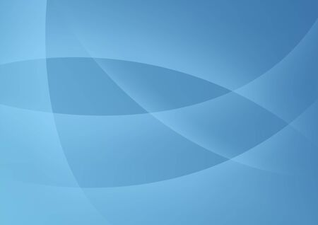 Blue Abstract Background - Colored Illustration, Vector