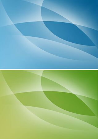 Abstract Backgrounds - Colored Illustration, Vector