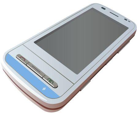 palmtop: Mobile Phone - Illustration Illustration