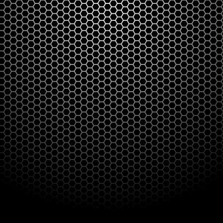 Texture of metallic mesh - Background Pattern Stock Vector - 14850149