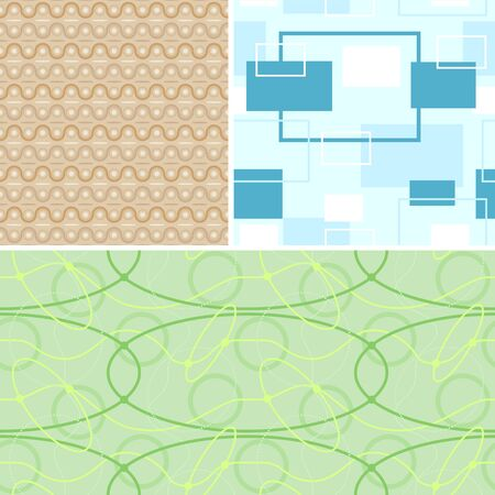 endlos: Seamless Retro-Muster - kann endlos wiederholt werden, Vektor