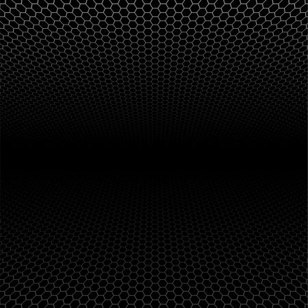 Texture of metallic mesh - Background Pattern, Vector Stock Vector - 14885644