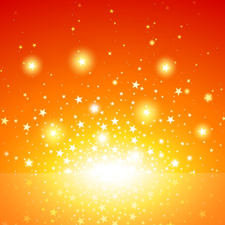Star Burst - Exploding Star Background, Vector