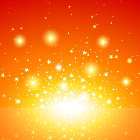 Star Burst - Exploding Star Background, Vector