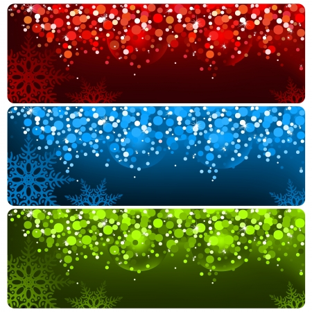 Abstract Christmas Banner Foto de archivo - 15129867