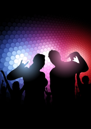 reflector: Rainbow Party - Dance Background