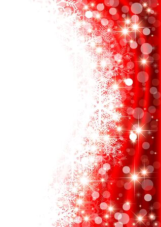 Red Winter Background - Christmas Illustration Stock Illustration - 15540209