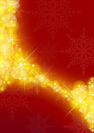 blinking: Estrellada de Navidad de fondo - fondo de Navidad y las Estrellas Vectores