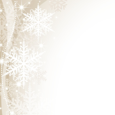 Christmas Background - Abstract Xmas Illustration