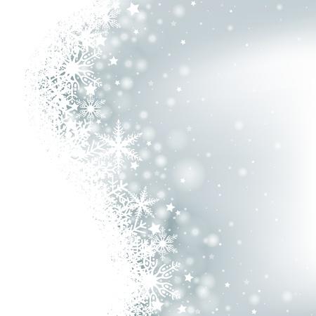 Winter Achtergrond - Kerst Illustratie Stock Illustratie