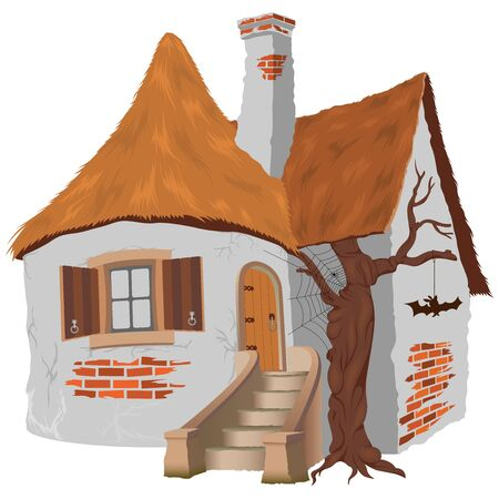 Fairy Tale Cottage Vector