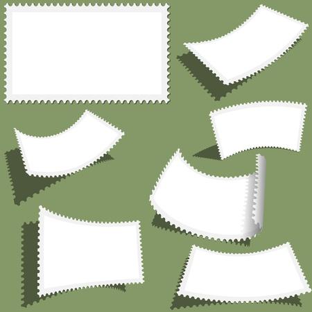 postmark: Poststempel Set - verschiedene Ansichten