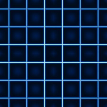 r�p�titif: Motif Glowing Squared - Illustration r�p�titive.