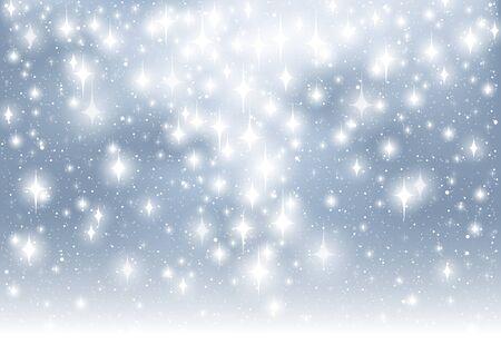 blinking: Abstract Glitter Background - Christmas Illustration, Vector
