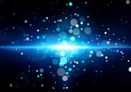 supernova: Supernova Explosion - Abstract Background Illustration, Vector Illustration