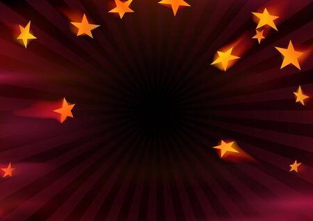 flying stars: Flying Stars - Abstract Background Illustration, Vector Illustration