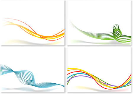 muster: Abstract Lines Background - Vector Illustrations Illustration